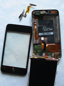 Repair iPod Touch faulty power on off switch - 1-877-IPOD
