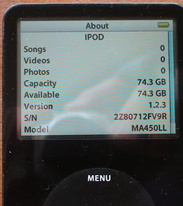 ipod nano instructions 1st generation
